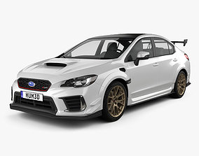 3D model Subaru WRX STI S209 US-spec 2019