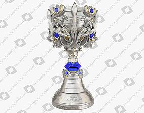 League of Legends Summoners Cup Trophy 3D Model