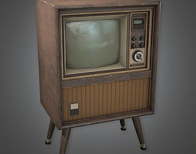 Old TV Antiques - PBR Game Ready 3D model