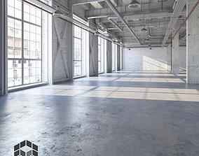 hallway Loft Interior 4 3D model