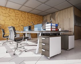 3D model HQ Modern Office