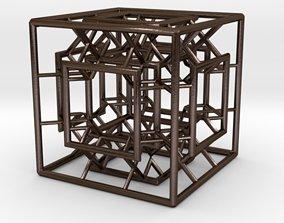 3D printable model Menger Mixed Cube