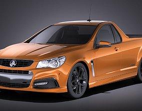 Holden VF Commodore UTE SSV 2016 VRAY 3D