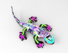 Salamander Alebrije 3D printable model