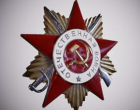 3D model Order of the Patriotic War