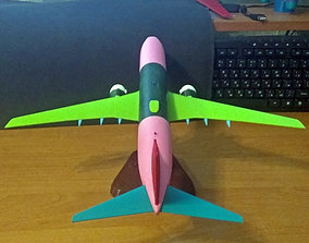 Boeing 737-800 no Winglet Landing gear up 3D print model