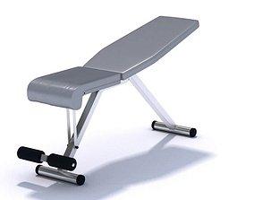 3D Workout Weight Bench