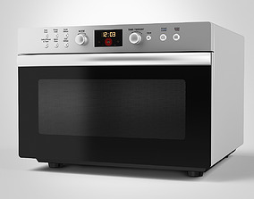 Counter-Top Electric Oven 3D model