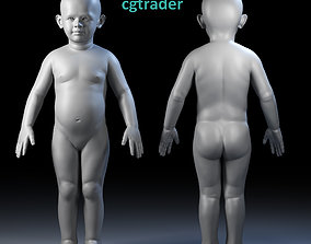 Child Basemesh 3D asset