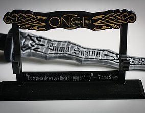 3D printable model Stand for Dark One Dagger