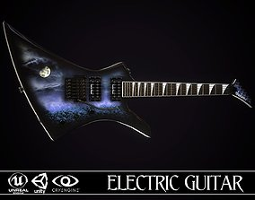 Electric guitar Jackson Kelly skin1 3D model