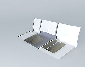 3D Luggage Compartments Set