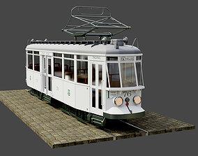 Geta 76 Tram 3D model