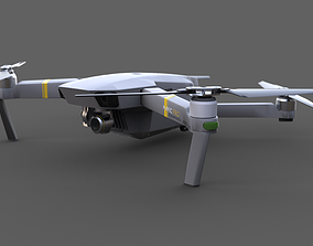 surveillance 3D Drone Mavic