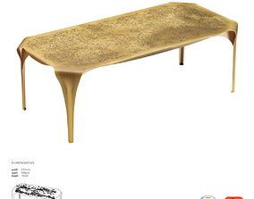 De Castelli Convivium Dining Table 3D asset