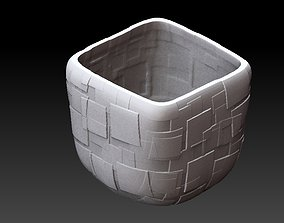 3D print model Extended pot 30