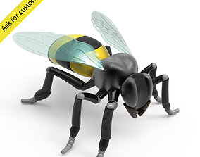 model 3D model Bee stylized