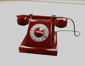 Telephone Lowpoly 3D model