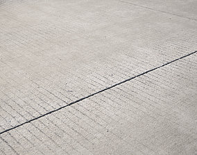 Large area seamless concrete road texture 3D