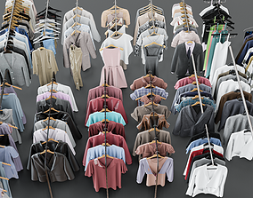 3D Clothes on a hanger