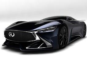 3D model Infiniti Sport Car