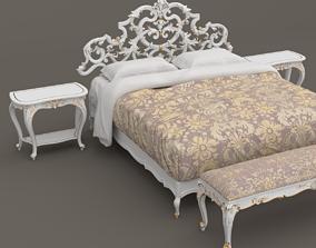 Baroque Bedroom set A 3D