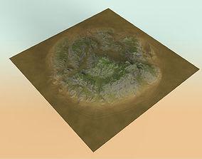 Eroded Highlands 3D model