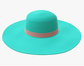 Hat woman 03 3D model