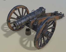 Cannon Unicorn 3d model realtime