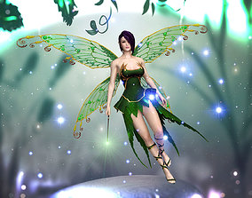 animated 3Dfoin - Fairy