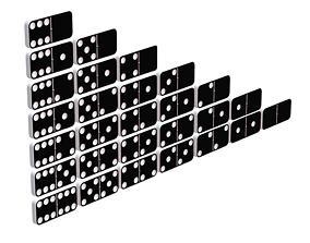 3D asset Domino
