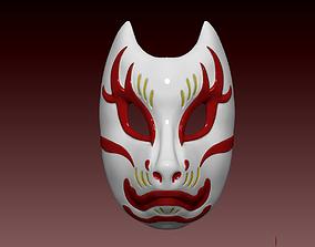 3D print model Ghost Of Tsushima - Tomoe Kitsune Mask
