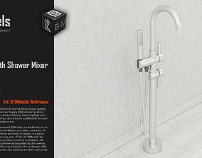 3D model 0163 Standing Bath Shower Mixer Tap