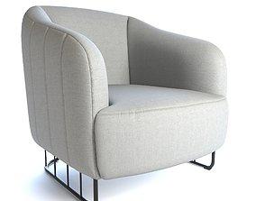 Cleveland Accent Chair 3D