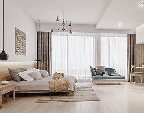 diningroom modern bedroom 3D