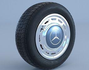 3D model Mercedes-Benz Classic Wheel