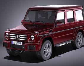 3D model Mercedes-Benz G-Class 2017 VRAY