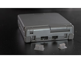Gameboy Advance Dust Covers 3D print model