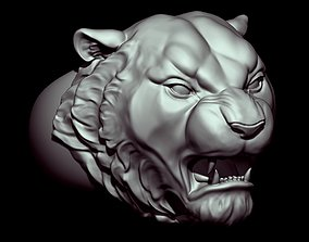 3D print model Angry Tiger Ring