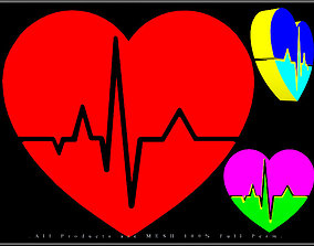 3D model Heartbeat Art