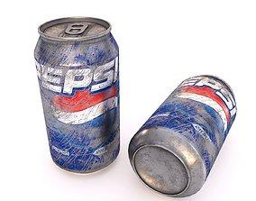 Pepsi Dirt Can 3D model