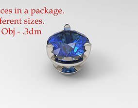 Jewelry Prong Head 3D print model 3