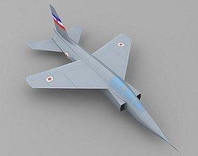 Soko J-22 Orao 3D asset