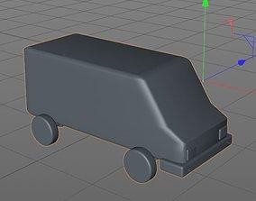 3D model mini van