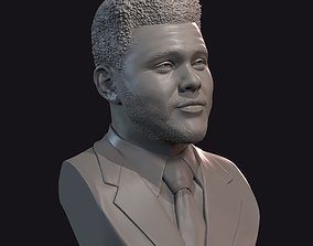 3D printable model The Weeknd bust 1