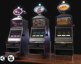 PBR Assets - Casino Machines 3D model