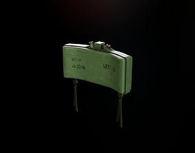 Antipersonnel landmine MON-50 3D asset
