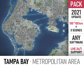 Tampa Bay Area 3D