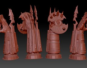 3D print model predator arm and disk display