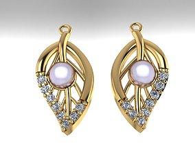 Fashion earrings 3D print model